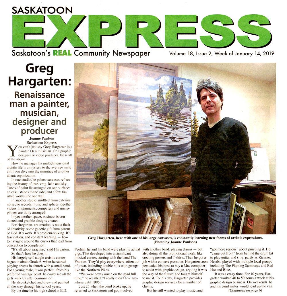 Greg Hargarten Artist